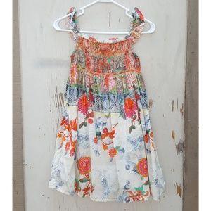 Zara Kids Girls Floral Summer Dress Sz 9-10 #275